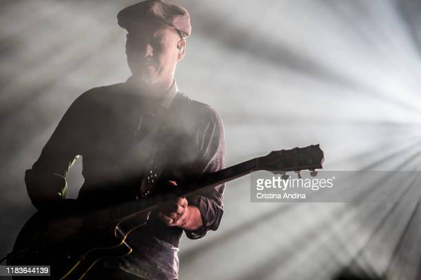 Joey Santiago of Pixies performs on stage at Coliseum A Coruña on October 26 2019 in A Coruna Spain