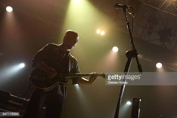 Joey Santiago of The Pixies performs at The Marquee on July 13 2016 in Cork Ireland