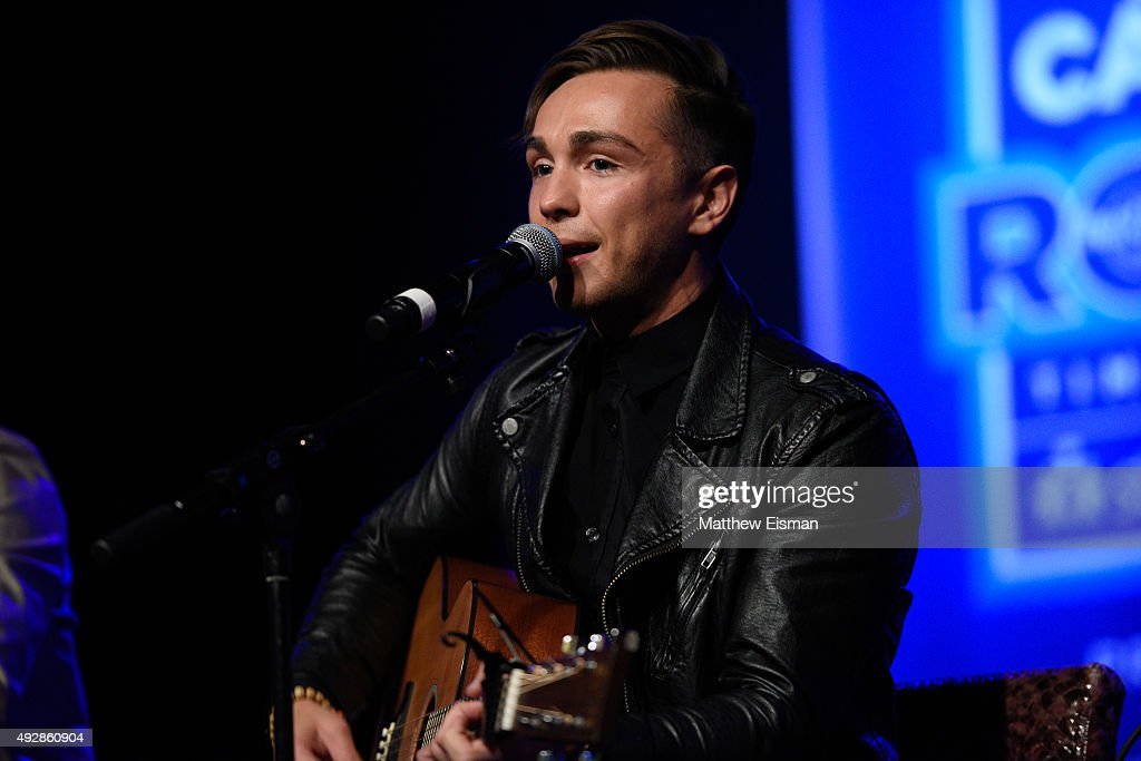 Joey Stamper Of The Band Anthem Lights Performs Live During Nick