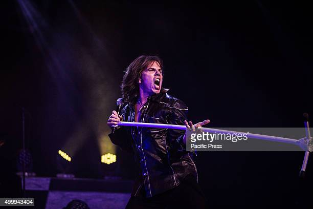 Joey Tempest of the Swedish rock band Europe pictured on stage as he performs live at Alcatraz Milan Joey Tempest is the vocalist and main songwriter...