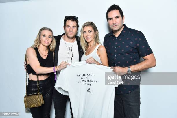 Joey Tierney Gregory Siff Audrina PatridgeTony Schubert attend 4AM Presents Crash This A Private Exhibition Of New Paintings By Gregory Siff at Soho...