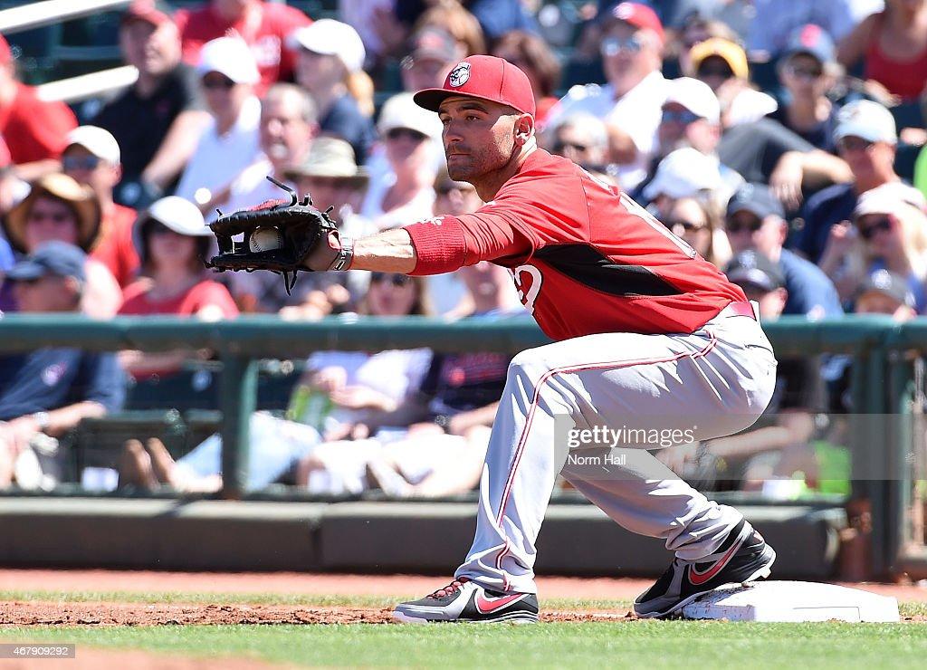 Cincinnati Reds v Cleveland Indians : News Photo