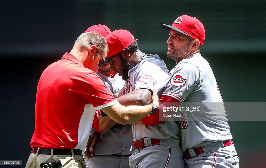 Cincinnati Reds v Milwaukee Brewers : News Photo