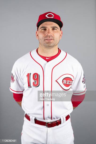 Joey Votto of the Cincinnati Reds poses during Photo Day on Tuesday February 19 2019 at Goodyear Ballpark in Goodyear Arizona