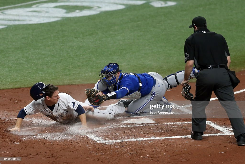 MLB: AUG 24 Blue Jays at Rays : News Photo