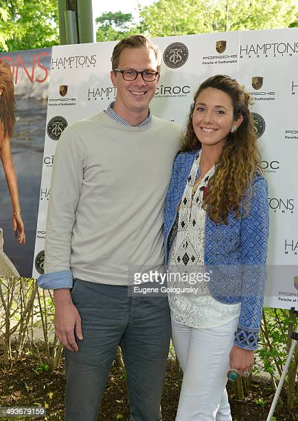 Joey Wolffer and Max Wolffer attend the Hamptons Magazine Celebration of Memorial Day Cover Star Heidi Klum on May 24 2014 in Southampton New York