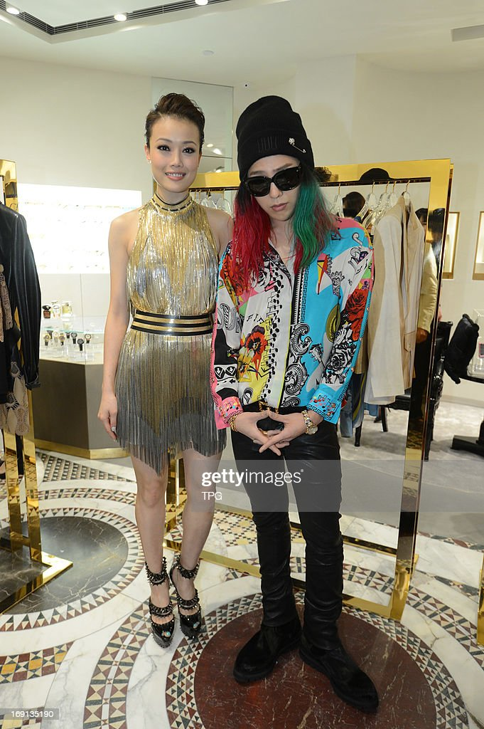 Joey Yung and G-Dragon attended fashion activity on Sunday May 19, 2013 in Hong Kong, China.