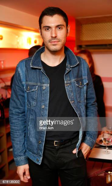 Joey Zauzig attends as Maria Hatzistefanis and Brad Goreski host Rodial VIP Dinner on May 3 2017 in New York City
