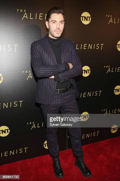 Joey Zauzig attends New York Premiere of TNT's The Alienist on January 16 2018 in New York City