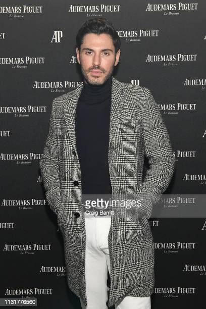 Joey Zauzig attends the Code 1159 by Audemars Piguet New York launch at The William Vale on March 20 2019 in New York City