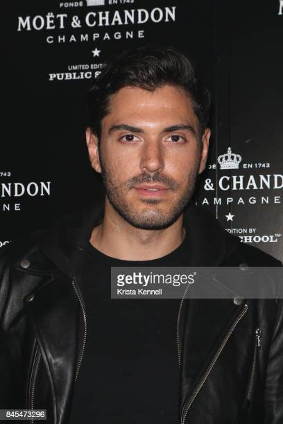 Joey Zauzig attends the Moet Chandon x Public School Launch on September 10 2017 in New York City