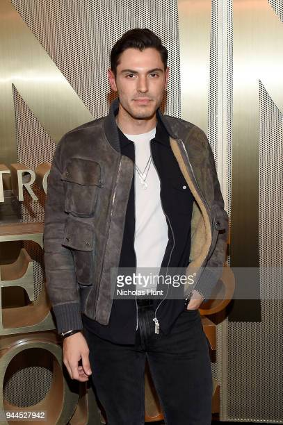 Joey Zauzig attends the Nordstrom Men's NYC Store Opening on April 10 2018 in New York City