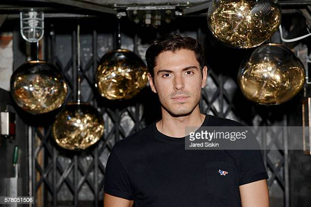 Joey Zauzig attends Tom Dixon Celebrates New Store with Howard Street Party at The Shop New York on July 19 2016 in New York City