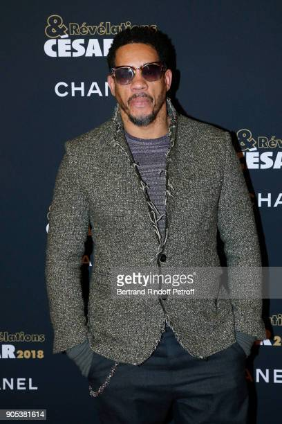 JoeyStarr aka Didier Morville attends the 'Cesar Revelations 2018' Party at Le Petit Palais on January 15 2018 in Paris France