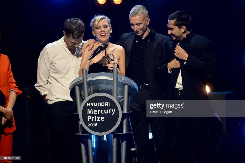 Hyundai Mercury Prize 2018 - Winners Room : News Photo