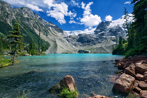 Joffre Lakes in summer, BC, Canada 693138680