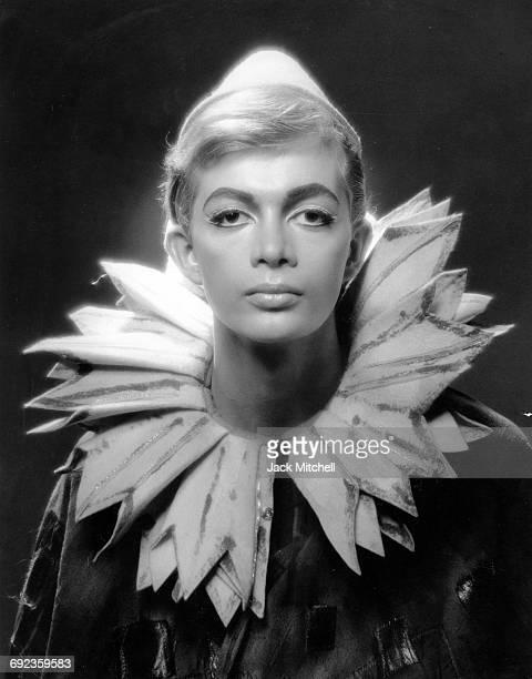 Joffrey Ballet dancer Robert Blankshine in costume for 'Incubus' August 1966