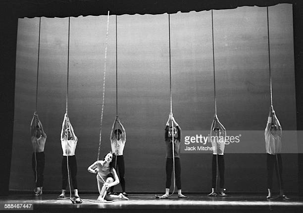 """Joffrey Ballet's premier of Gerald Arpino's """"Ropes"""" at the YMHA"""" on May 18, 1961."""