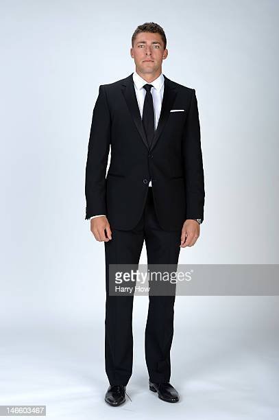 Joffrey Lupul of the Toronto Maple Leafs poses for a portrait during the 2012 NHL Awards at the Encore Theater at the Wynn Las Vegas on June 20 2012...