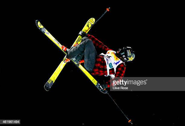 Joffrey PolletVillard of France competes in the Men's Ski Halfpipe Finals during the FIS Freestyle Ski and Snowboard World Championships 2015 on...