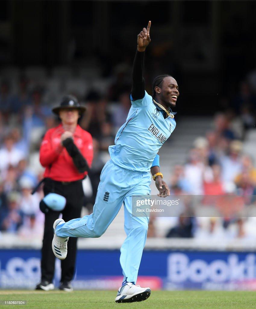England v South Africa - ICC Cricket World Cup 2019 : ニュース写真