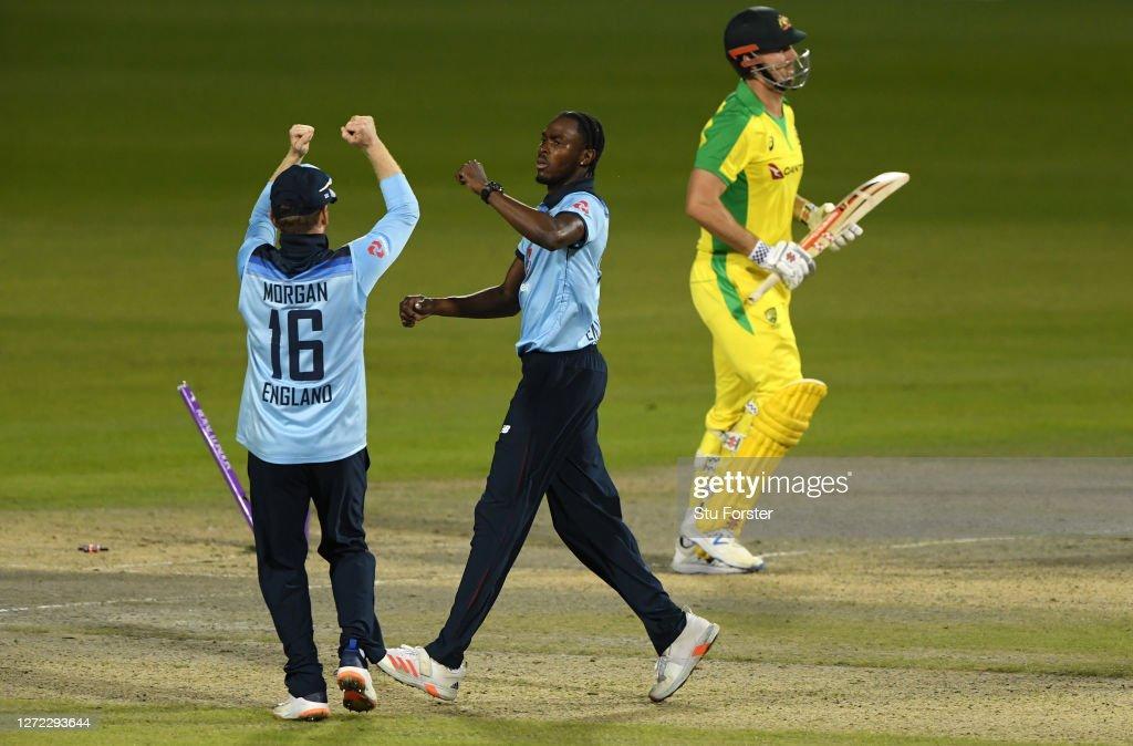 England v Australia - 2nd Royal London Series One Day International : News Photo