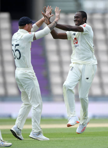 GBR: England v West Indies: Day 5 - First Test #RaiseTheBat Series