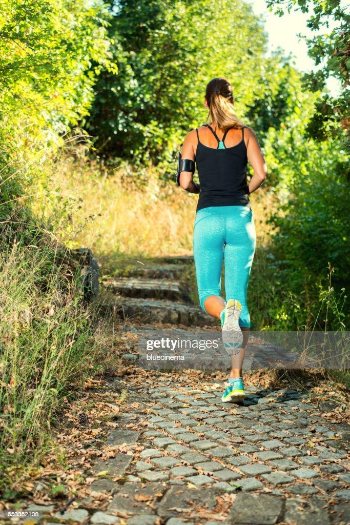 Jogger : Stockfoto