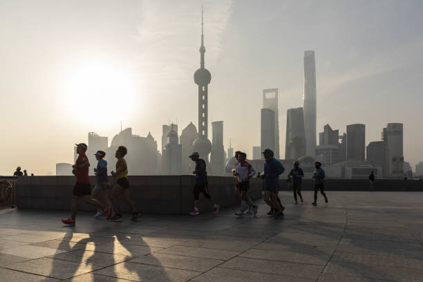CHN: Daily Life In Shanghai Ahead of China Census