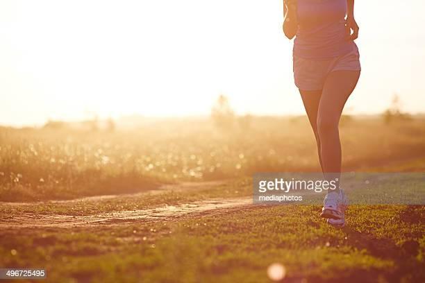 Jogging ao Anoitecer