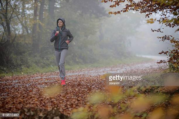 Jogging in any weather