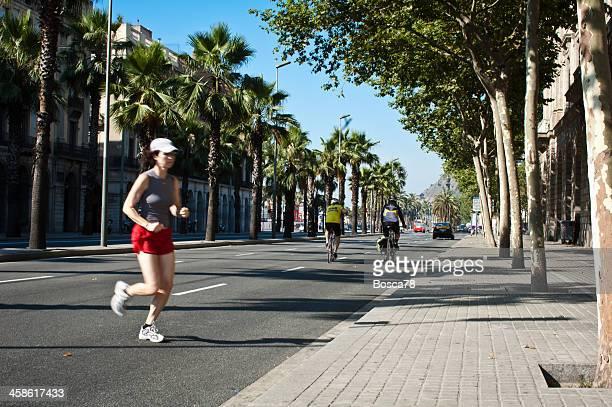 Trote en Barcelona