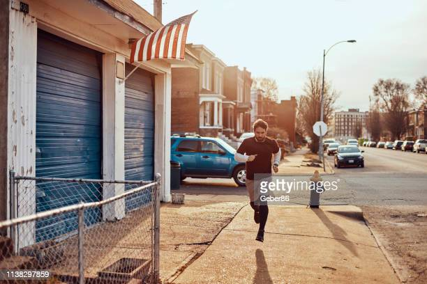 jogging - st. louis missouri stock pictures, royalty-free photos & images