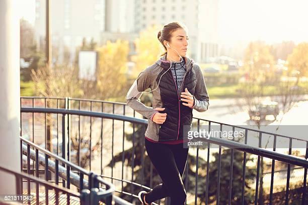 Jogging Frau