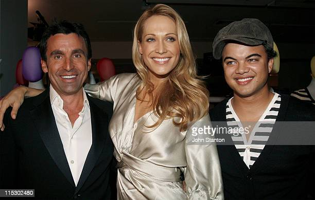 Joh Bailey,Erika Heynatz and Guy Sebastian during Myer Fashion and Installation Party - May 30, 2006 at Myer Store in Sydney, NSW, Australia.