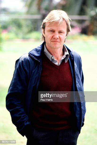Joh Voight during publicity interviews for his 1982 film Looking to Get Out photographed March 23 1982 at the Chateau Marmont Hotel Los Angeles...