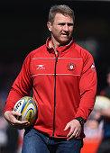 gloucester england johan ackermann head coach