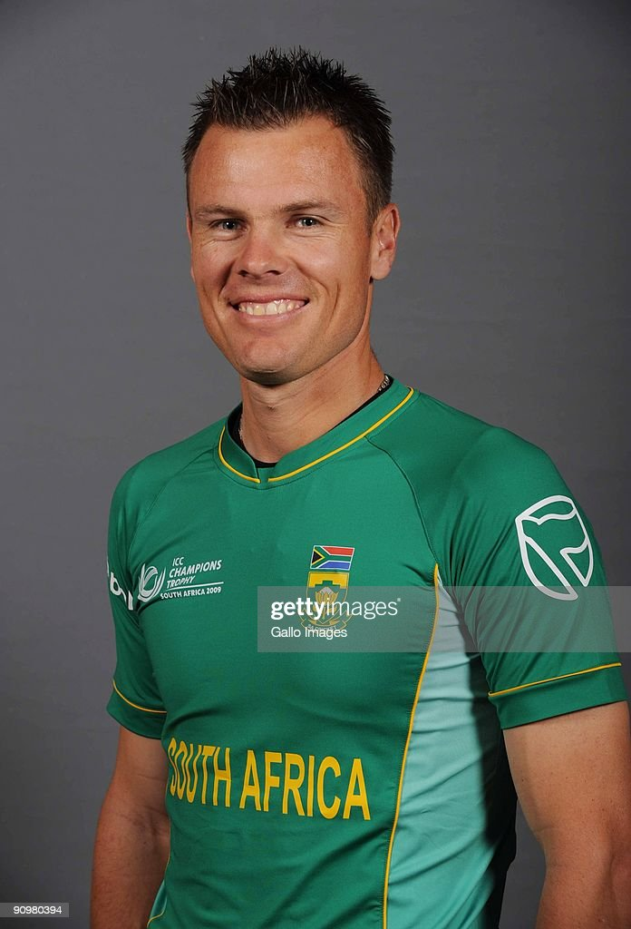 Johan Botha of South Africa poses during an ICC Champions photocall session at Sandton Sun on September 19, 2009 in Sandton, South Africa.