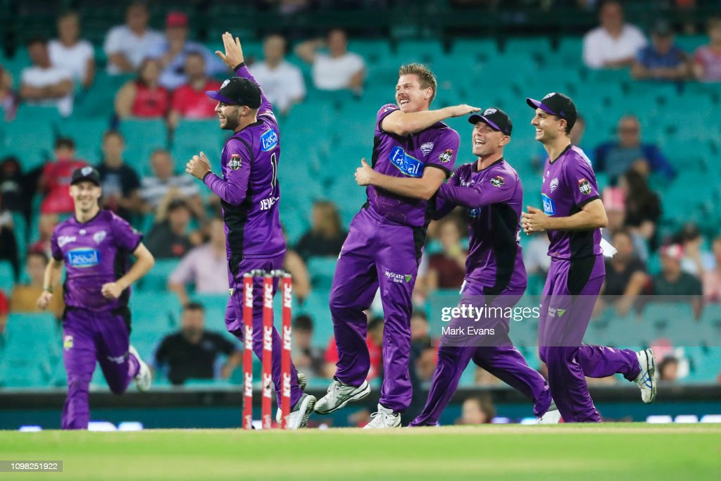 BBL - Sixers v Hurricanes : News Photo