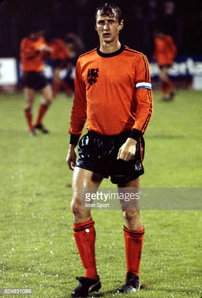 Johan Cruyff of Holland during the European Championship between Czechoslovakia and Holland in Stadium Maksimir Zagreb Yugoslavia on 16th June 1976