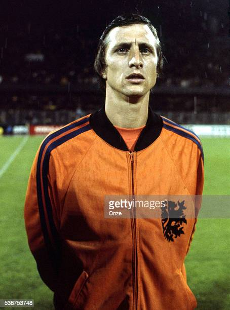 Johan Cruyff of Holland during the European Championship for the 3rd place between Holland and Yugoslavia in Stadium Maksimir Zagreb Yugoslavia on...