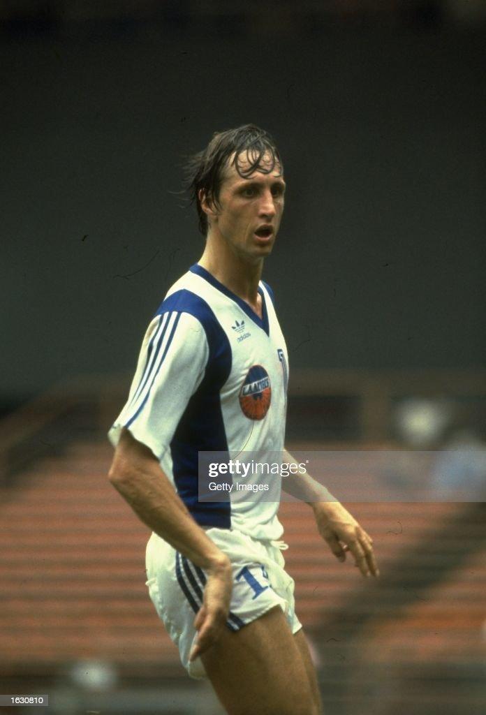 Johan Cruyff of LA Aztecs : News Photo