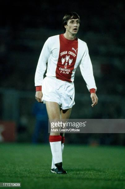 Johan Cruyff Testimonial Football Match Ajax v Bayern Munich Johan Cruyff