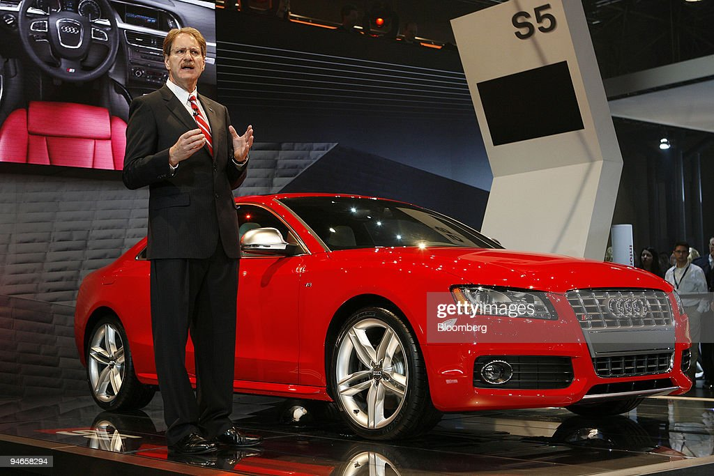 Johan De Nysschen Executive Vice President Of Audi North America