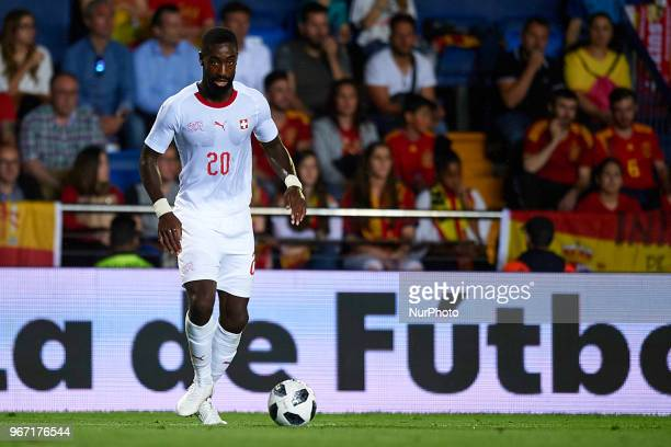 Johan Djourou during a International friendly match between Spain against Switzerland in La Ceramica Stadium Villarreal Spain on 03 June of 2018
