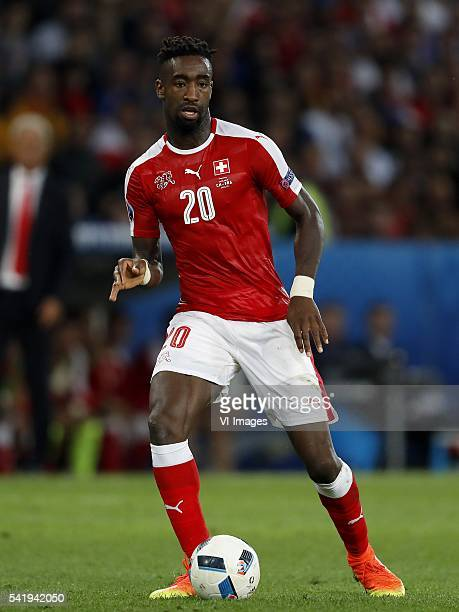 Johan Djourou of Switzerland during the UEFA EURO 2016 Group A group stage match between Switzerland and France at the Stade PierreMauroy on june 19...