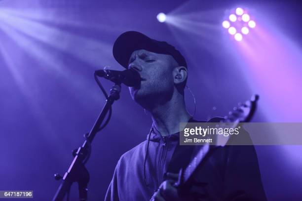 Johan Duncanson of The Radio Dept performs live at Neumos on March 01 2017 in Seattle Washington