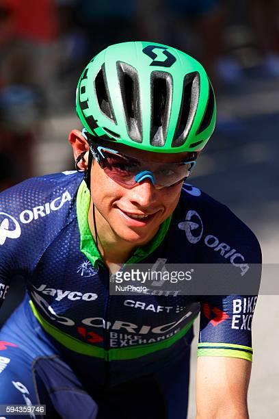 Johan Esteban Chaves / Orica Team during 71st La Vuelta España 2016 / Stage 3 MarínDumbría Mirador do Ézaro on August 22 2016