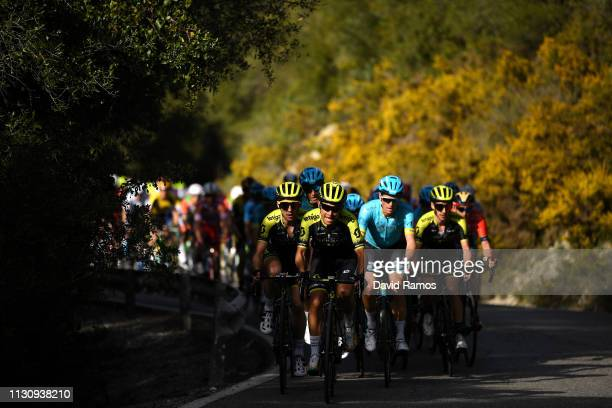 Johan Esteban Chaves Rubio of Colombia and Mitchelton Scott / Simon Yates of United Kingdom and Team Mitchelton Scott / Peloton / Shadow / during the...