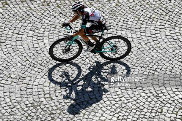 Johan Esteban Chaves Rubio of Colombia and Team BikeExchange during the 84th Tour de Suisse 2021, Stage 8 a 159,5km stage from Andermatt to Andermatt...